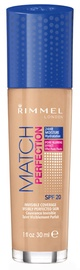 Rimmel London Match Perfection Foundation SPF20 30ml 300