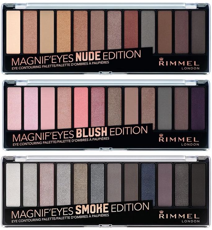Rimmel London Magnif'Eyes Eye Contouring Palette Nude Edition 14g