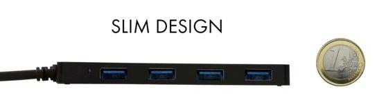 Pretec i-tec USB 3.0 Slim passive HUB 4 ports
