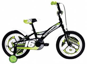 """Vaikiškas dviratis Capriolo Mustang 16"""" Green 17"""