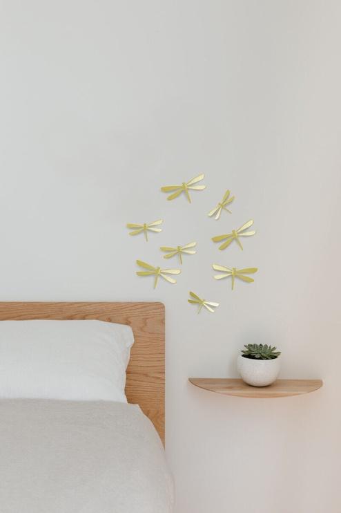 Декор для дома Umbra Wall Flutter Wall Decoration Brass