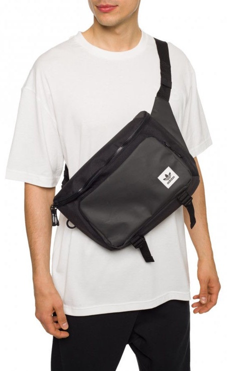 Adidas Premium Essentials Waist Bag Large ED8047 Black