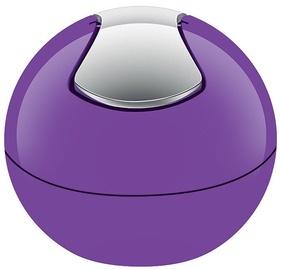 Spirella Bowl Bin 1l Violet