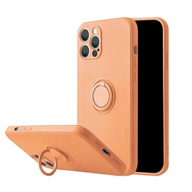 Чехол Mocco Pastel Ring For Xiaomi Redmi Note 9, oранжевый
