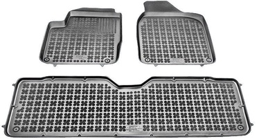 REZAW-PLAST VW Sharan 1995-2010 5-Seats Rubber Floor Mats