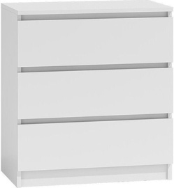 Top E Shop Malwa M3 Chest of 3 Drawers White