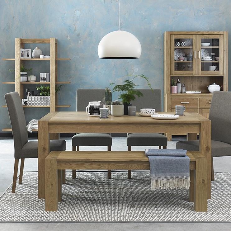Стул для столовой Home4you Turin Oak, 1 шт.