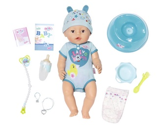 Lėlė Zapf Creation Baby Born Soft Touch Boy 824375, nuo 3 m.