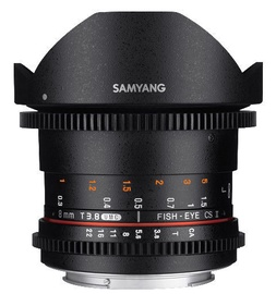 Samyang 8mm T3.8 VDSLR UMC Fish-eye CS II For Nikon
