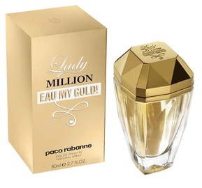 Paco Rabanne Lady Million Eau My Gold 80ml EDT
