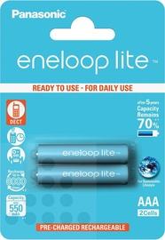 Elements Panasonic Eneloop Lite Rechargeable Battery 2xAAA 600mAh
