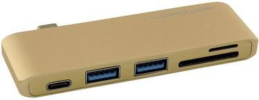 LC-Power USB HUB LC-HUB-C-MULTI-2 Gold