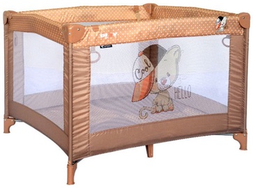 Bertoni Lorelli Baby Cot Play Beige Cute Cat