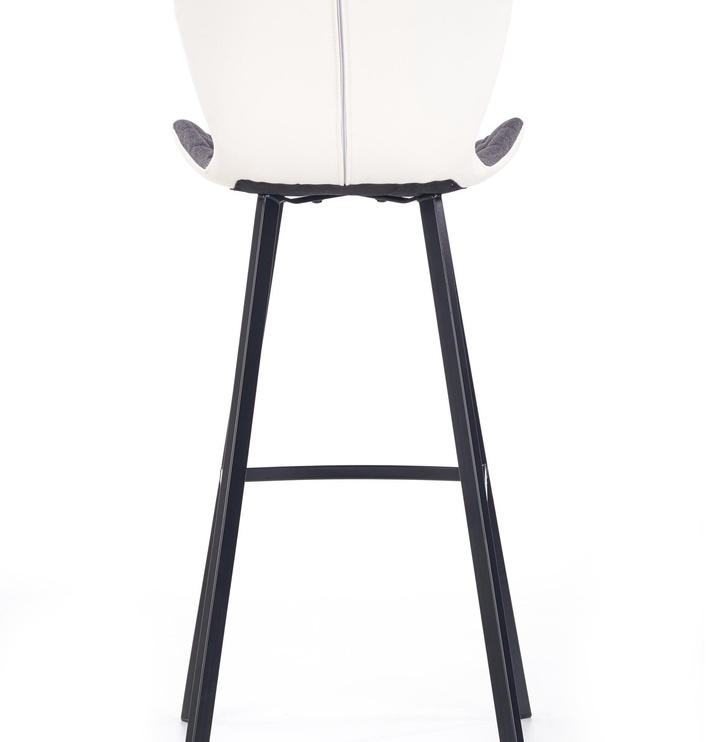 Baro kėdė Halmar H-83 Grey/White, 1 vnt.