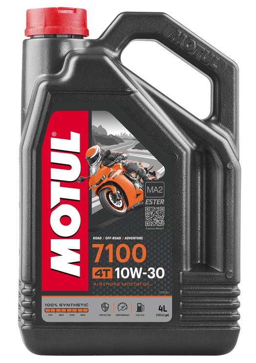 Motul 7100 4T 10W30 Motor Oil 4l