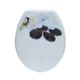 Tualetes poda vāks Karo-plast Contemplation 16276 46x4x37cm, balts