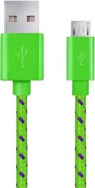 Esperanza Cable USB / USB-micro Green 2m