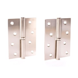 Durų lankstai Vagner SDH, 100 x 75 x 2,5 mm, 2 vnt.