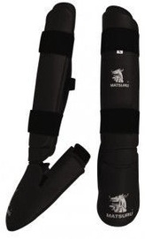 Matsuru Shin Foot Pad Karate XL Black