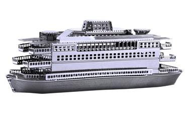 Juguetronica Fascination Metal Earth Commuter Ferry 3D Metal Model