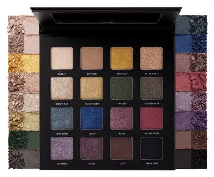 Milani Gilded Noir Eyeshadow Palette 9.6g MUIP 02