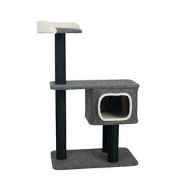 SN Scratching Post Grey 70x41x112cm 115002