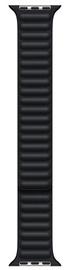 Ремешки Apple 45mm Midnight Leather Link - S/M, черный