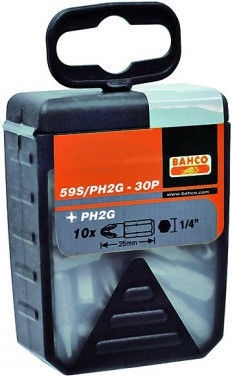Bahco PH2G Bit Set 25mm 30pcs
