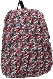 MadPax Blok Full Backpack Digital/Multi Color Red