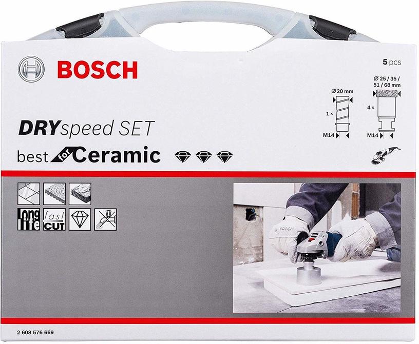 Bosch 2608576669 Dryspeed/Milling Cutter Set 5pcs