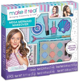 Детский косметический набор Make It Real Mega Mermaid Makeover