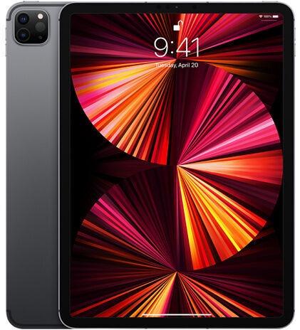 Планшет Apple iPad Pro 11 Wi-Fi 5G (2021), серый, 11″, 16GB/2TB