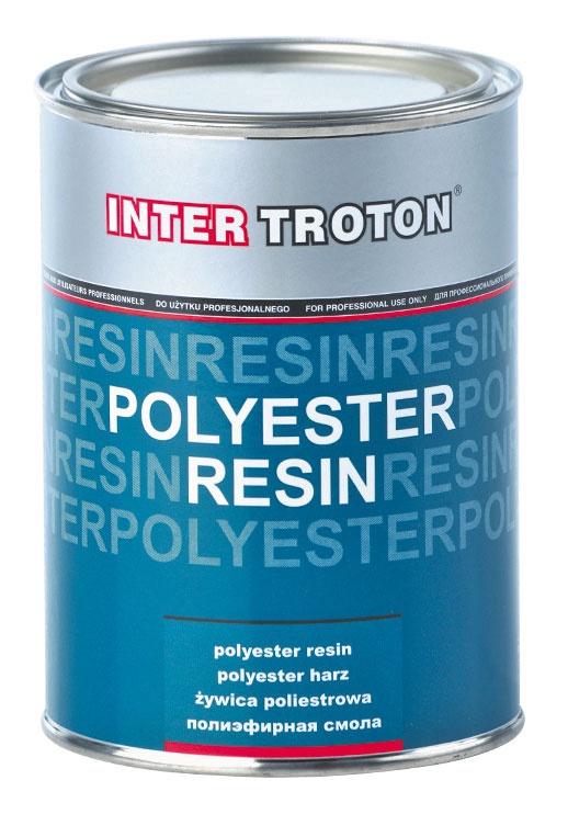 Poliesterinė derva Inter-Troton, 1000 ml