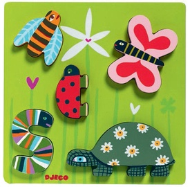 Djeco Wooden Puzzle Little Beasts DJ01025
