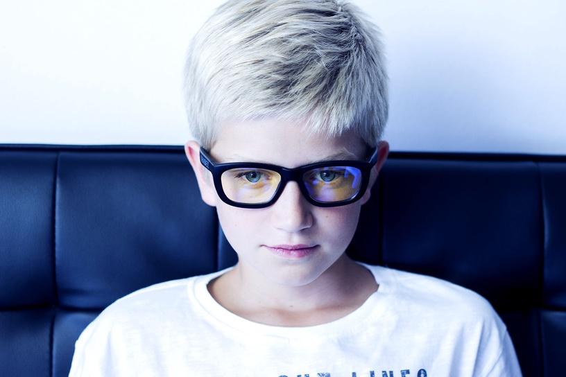 Shadez Blue Light Junior White