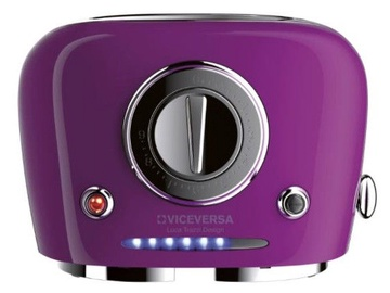 ViceVersa Tix Pop-Up Toaster Purple 50041