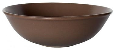 Cesiro Wood Soup Plate 21cm Brown