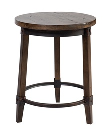 Home4you Opus-2 Coffee Table D44 Antique Brown/Black