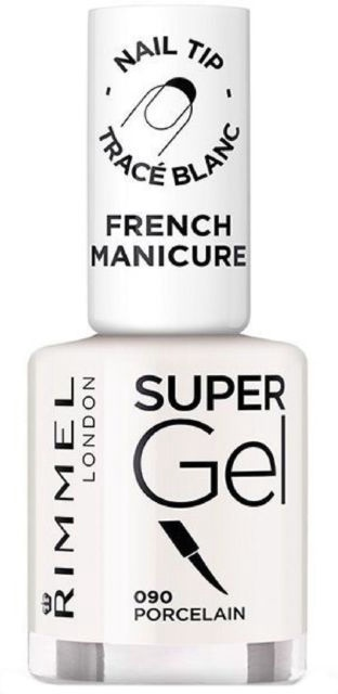 Rimmel London Super Gel French Manicure Nail 12ml 090