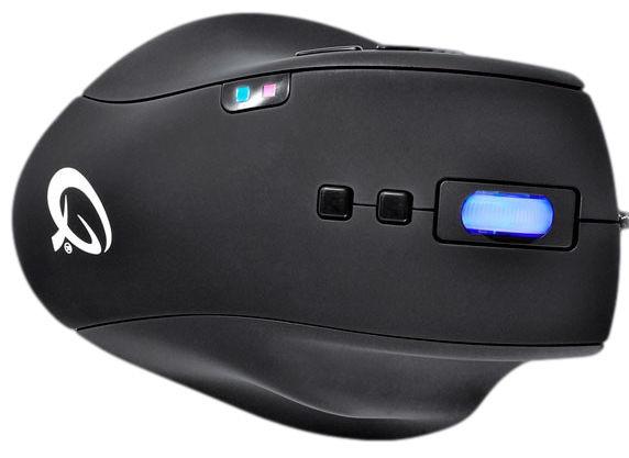 Qpad 5K Pro Gaming Laser Black