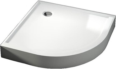 Aquaform Shallow Quadrant Shower Tray with Integrated Panel 90x90 White