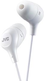 Ausinės JVC HA-FX38-E White