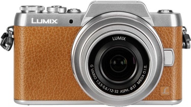 Panasonic Lumix DMC-GF7 LUMIX G VARIO 12-32mm f/3.5-5.6 ASPH./MEGA O.I.S. Brown
