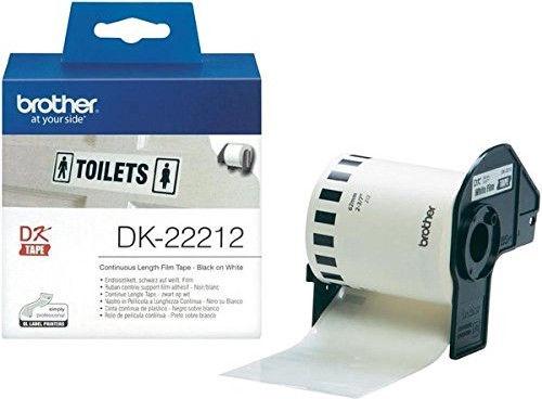 Этикет-лента для принтеров Brother DK22212, 1500 см