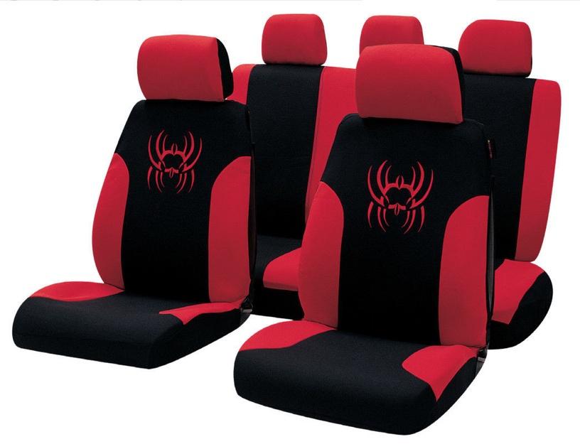 Bottari R.Evolution Tribal Seat Cover Set Black Red