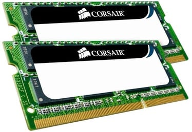 Corsair Mac Memory 8GB DDR3 CL7 SO-DIMM KIT OF 2 CMSA8GX3M2A1066C7