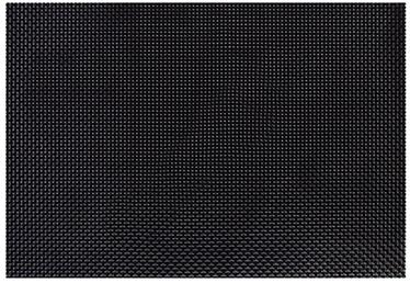Home4you Textiline Placemat 30x45cm Black