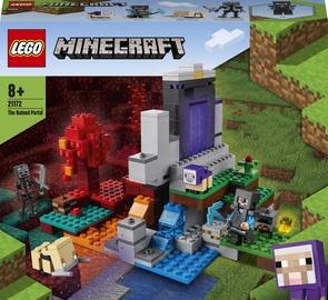Конструктор LEGO Minecraft The Ruined Portal 21172, 316 шт.