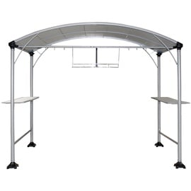 Home4you Grill Garden Gazebo 270x150cm Grey