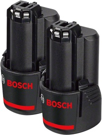Bosch GBA 10.8V 2.0 Ah Battery 2pcs